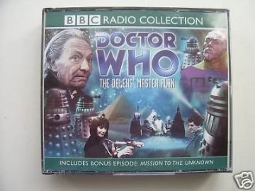Doctor Who The Dalek Master Plan CD Audio Soundtrack